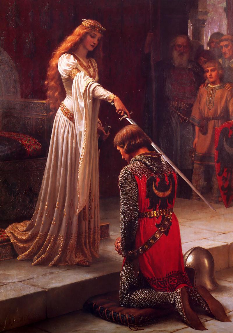 Любовь рыцаря к прекрасной даме - все ответы на вопросы на top-vopros.ru