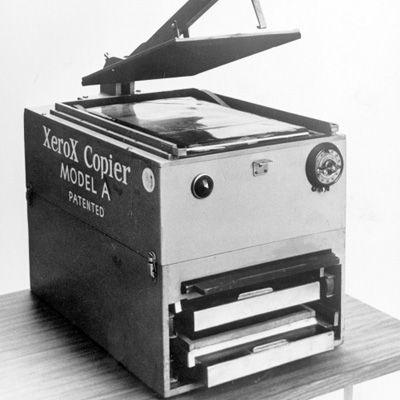 Карлсон, который изобрел ксерокс