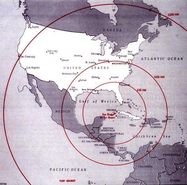 День накануне глобальной ядерной войны. Карибский кризис