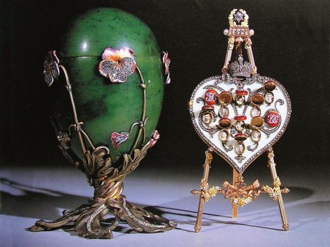 Пасхальное яйцо Фаберже «Клевер»