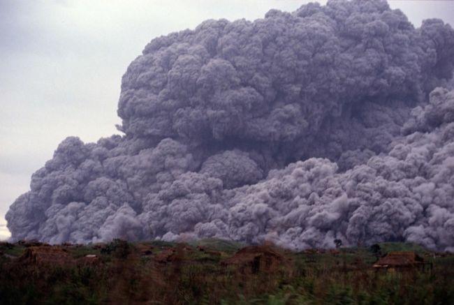 Самые известные Вулканы-катастрофы