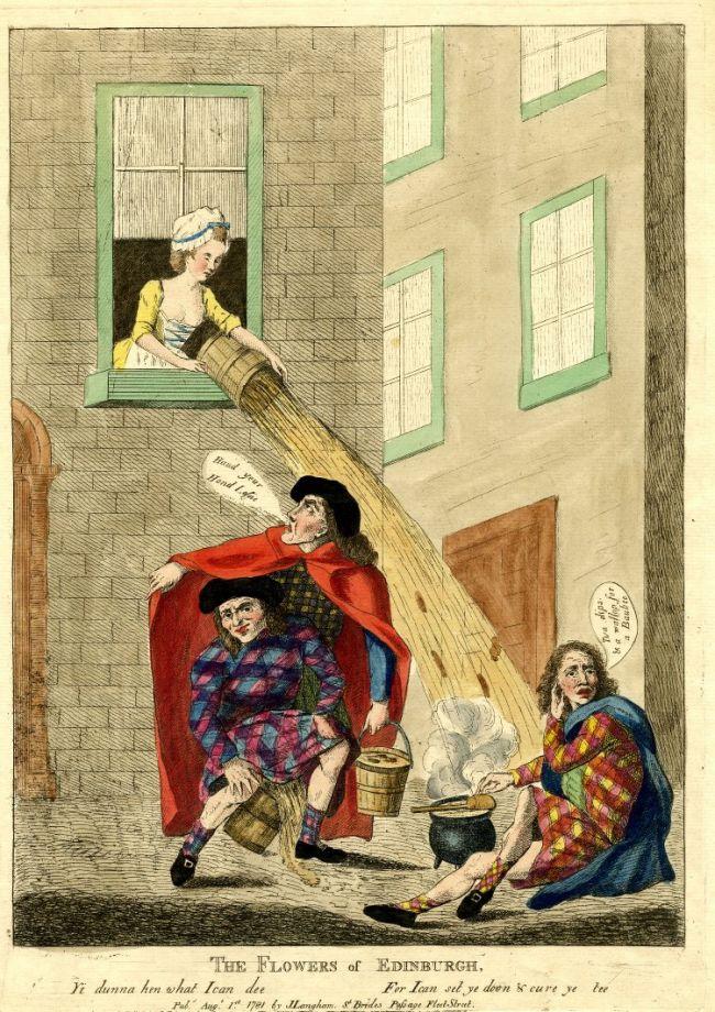 История туалета: Средние века