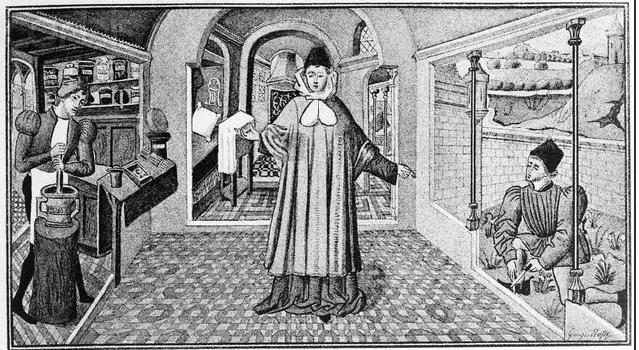 Как лечили в Средние века?