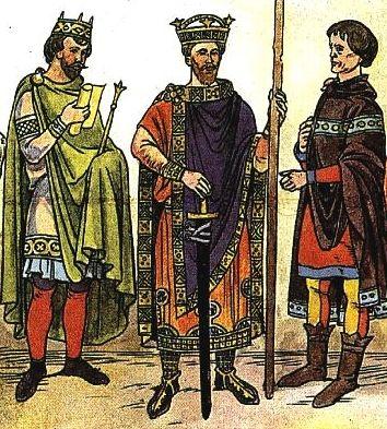 Что носили мужчины в Средневековье?