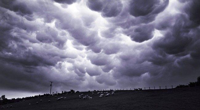 Самые редкие и красивые облака