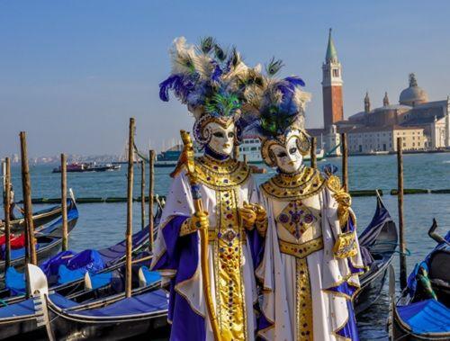 История карнавала в Венеции